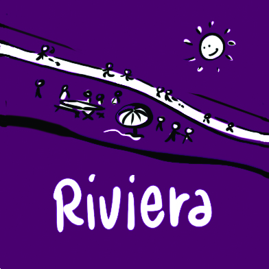 Sticker-Riviera