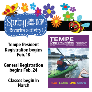 Spring Opportunities Brochure