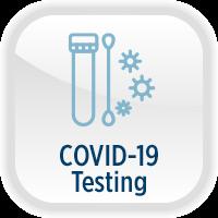 Coronavirus COVID-19 Testing Button