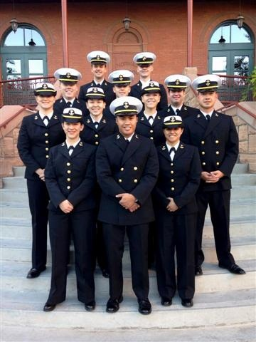 ASU Midshipmen First Graduates