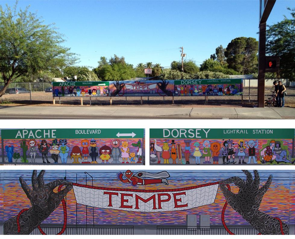 Temporary Art_Mural