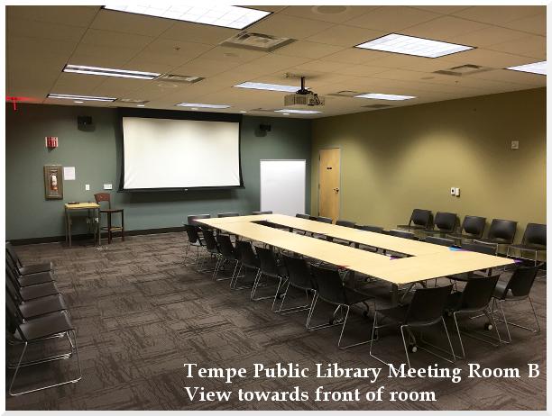 Meeting Room B Towards Front