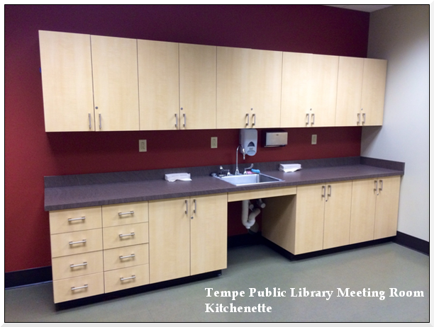 Library Meeting Room Kitchenette