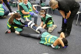volunteers, CERT, fire department, medical