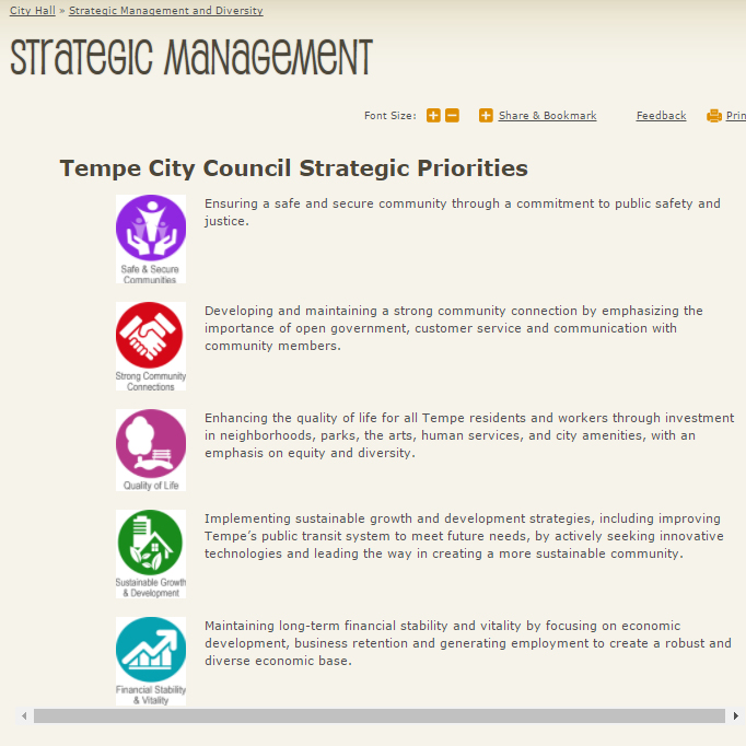 strategic management web