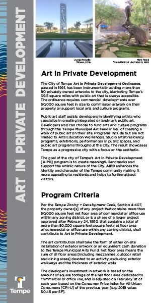 AIPD - Art In Private Development