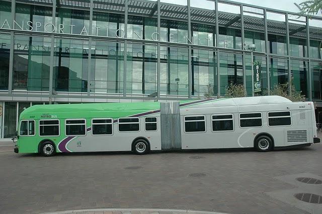 New bus at TTC